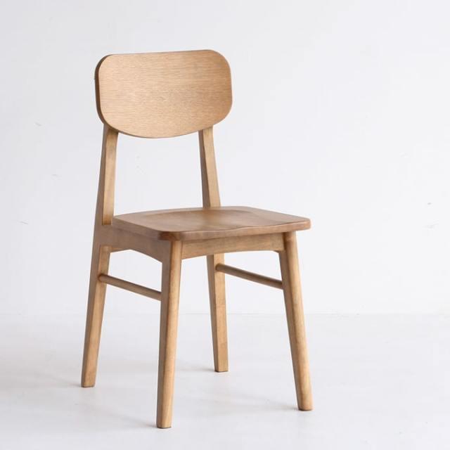 オーク材ダイニングチェア 椅子