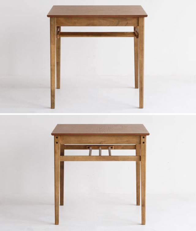 正方形ダイニングテーブル75cm