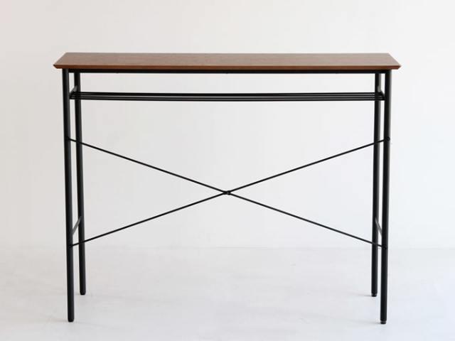 鉄脚カウンターテーブル高さ100cm