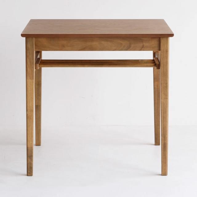 木製ダイニングテーブル 75X75cm