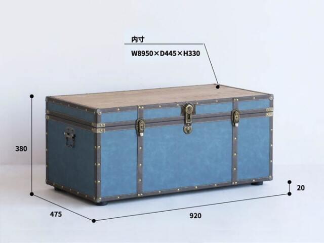 トランクテーブル サイズ詳細