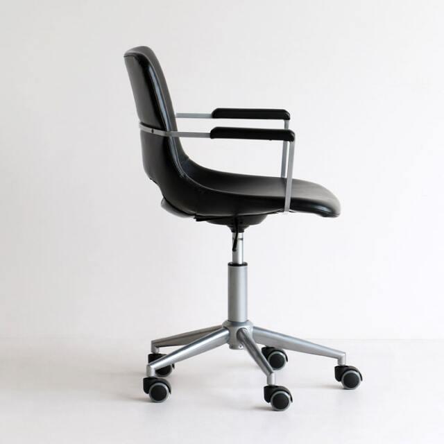 肘置き付き回転椅子 デスクチェア