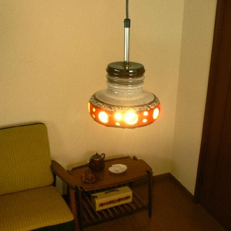 ヴィンテージ陶器ペンダントライト