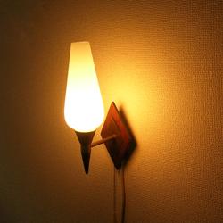 lt0077ガラスシェードウォールランプ*amber designビンテージ北欧中古家具アンティーク雑貨通販アンバーデザイン