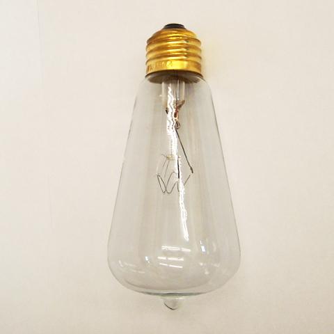 レトロな電球E26 60W