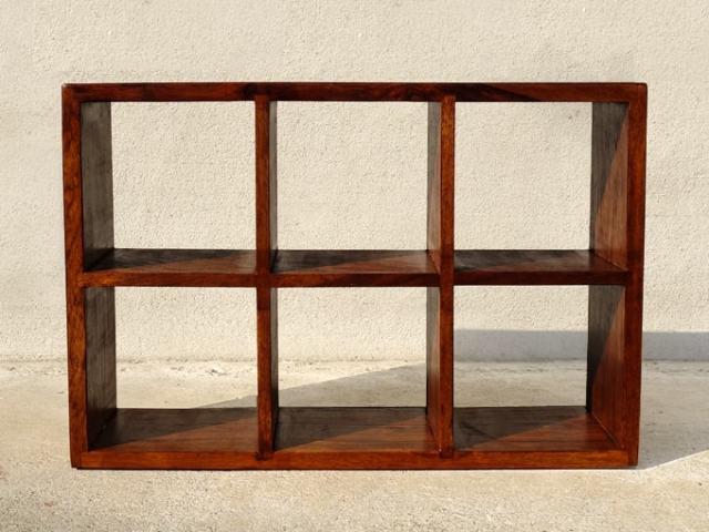 木製ミニシェルフ ディスプレイ小棚