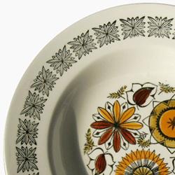 ヴィンテージ陶器スープ皿イギリス製