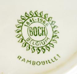 tw0243ベルギーBOCH Rambouilletデザートプレート*amber design*北欧家具やビンテージ雑貨等のインテリア通販