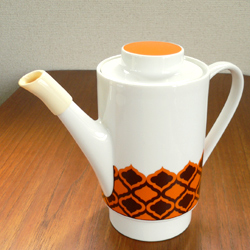 tw0255ドイツMelitta製コーヒーポット*amber design*北欧家具やビンテージ雑貨等のインテリア通販