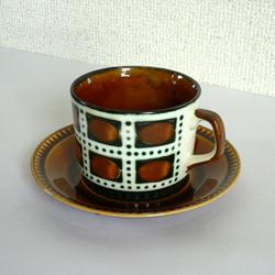tw0272BOCHベルナデッテカップ&ソーサー*amber design*北欧家具やビンテージ雑貨等のインテリア通販