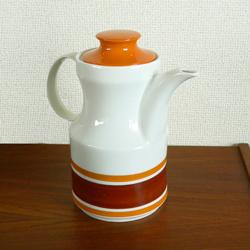 tw0274ドイツBavariaティーポット*amber design*北欧家具やヴィンテージ雑貨等のインテリア通販
