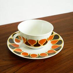 tw0275ドイツbavaria製コーヒーカップ*amber design北欧中古家具やヴィンテージ雑貨等のインテリア通販