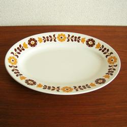 tw0290リチャードジノリのオーバル皿*amber designビンテージ北欧中古家具アンティーク雑貨通販アンバーデザイン