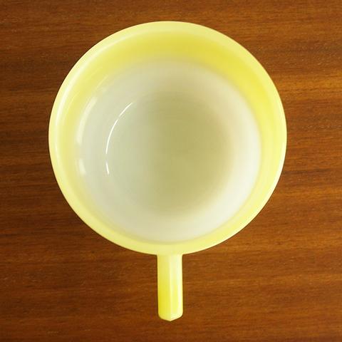 アルコパル黄色いスープカップ