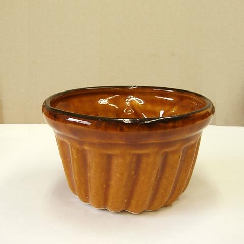 ビンテージ陶器プリンモールド