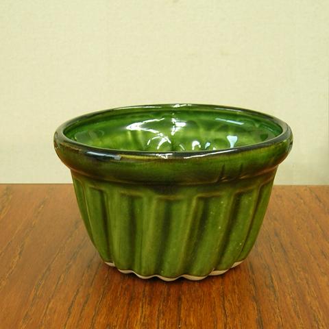 ビンテージ陶器プリン型