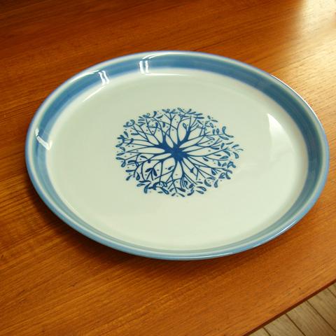 Desireeデンマーク陶器ディナープレート