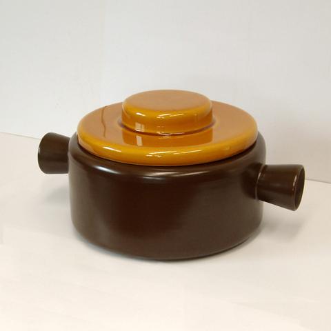 ヴィンテージ陶器鍋