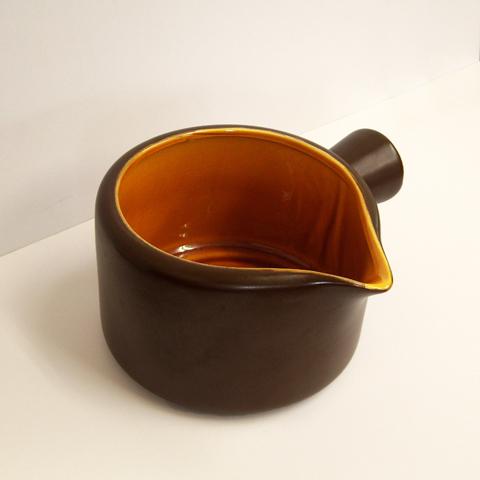 ビンテージ陶器ソースポット