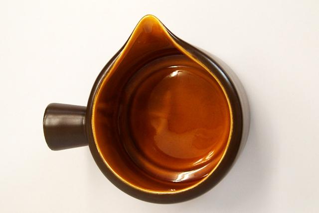 ビンテージ 陶器ソースパン