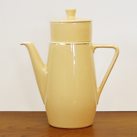 ヴィンテージポット陶器フィルター付き