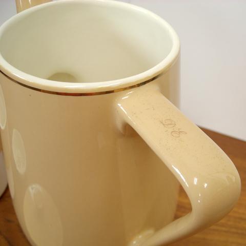 Douwe Egberts コーヒーポット ロゴ