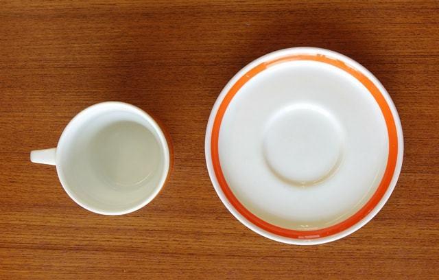 アンティーク陶器カップ&ソーサーThomas