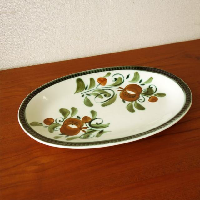 BOCHオーバル皿 アルジャントゥイユ