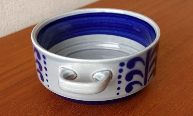 ベルギーBOCHスープカップ ブルー