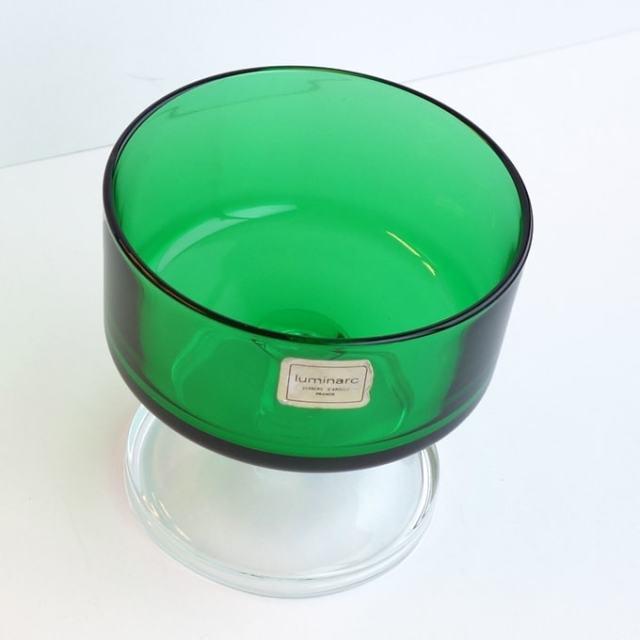 リュミナルクのヴィンテージガラス器