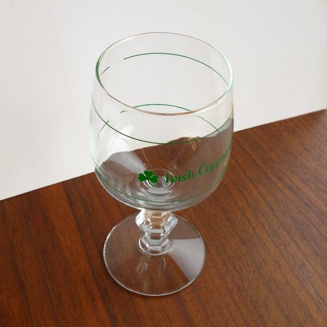 Irish Coffeeロゴ入りグラス