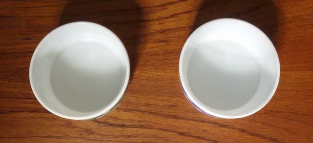ヴィンテージ ミルクガラスボウル 2個セット