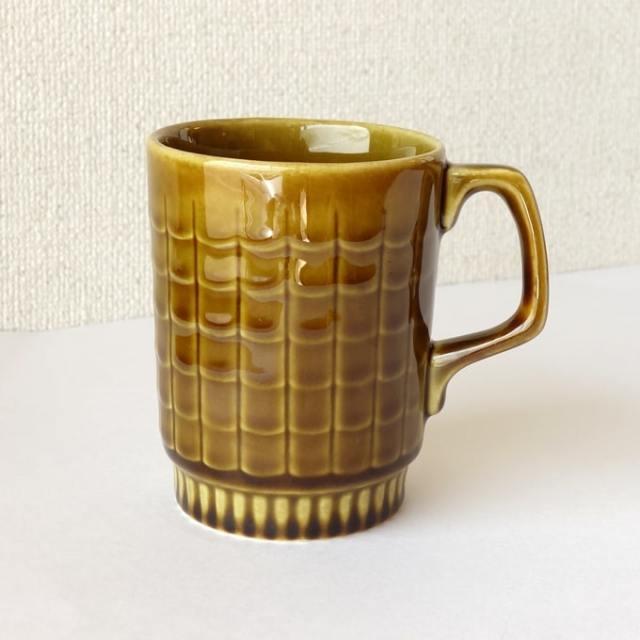 アンティークBOCHマグカップ