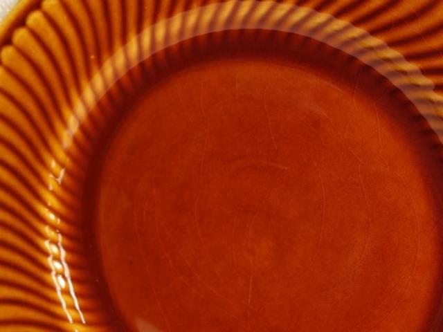 ビンテージ皿 表面