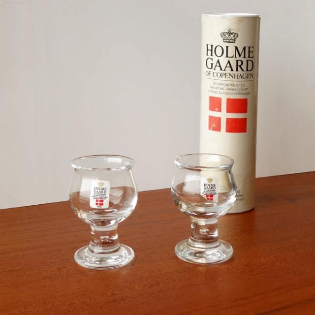 Holmegaard ショットグラスセット