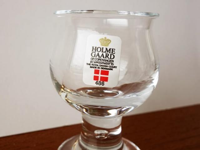 ホルムガード ロイヤルコペンハーゲン グラス