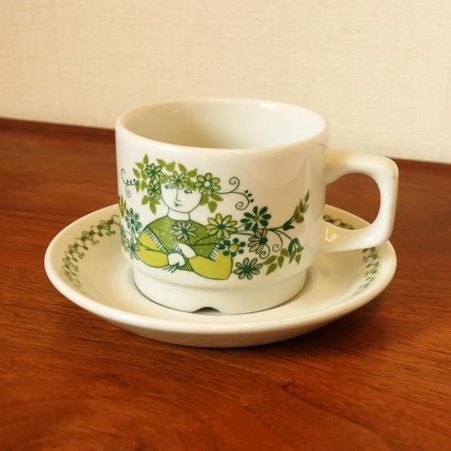 北欧食器フィッギオのカップ&ソーサー