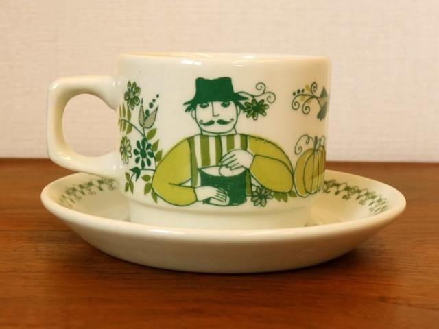 Figgjoカップ&ソーサー マーケット