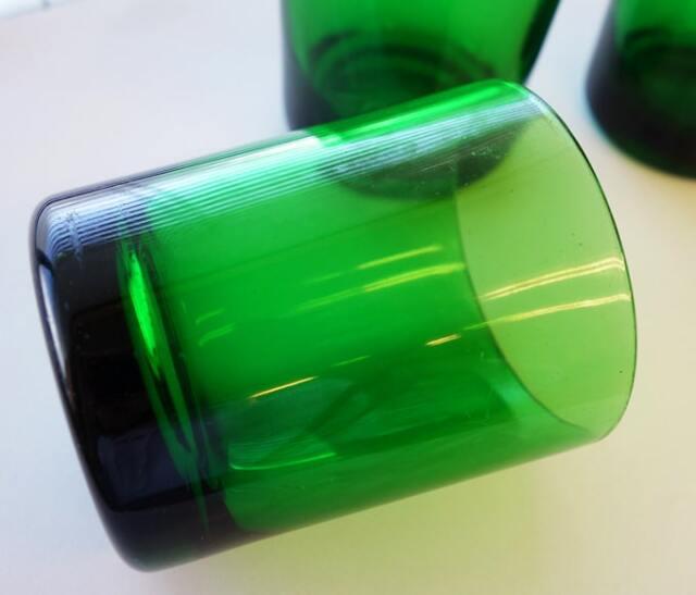 ヴィンテージグラス 緑