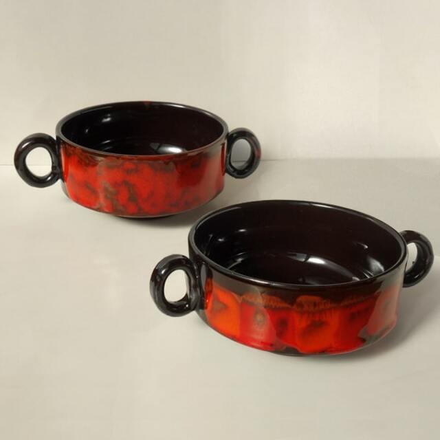 ビンテージ陶器スープカップ
