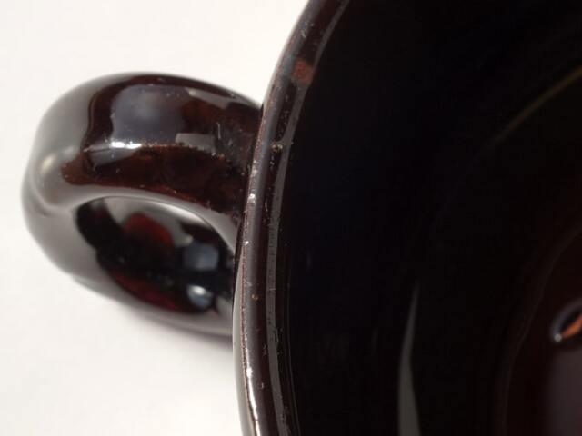 アンティーク陶器スープカップ 状態
