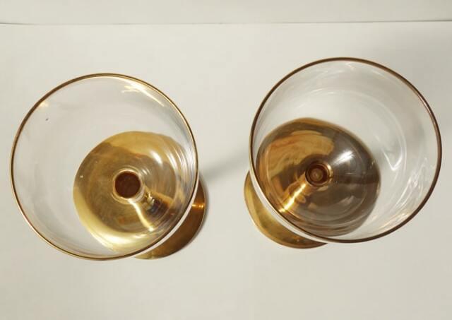 ヴィンテージワイングラス 上部