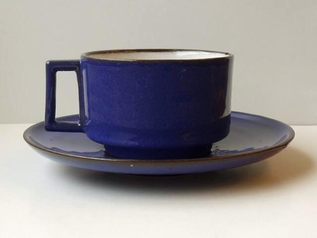 アンティーク陶器コーヒーカップ