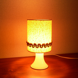 lt0074ファブリックシェードテーブルライト*amber design北欧中古家具ビンテージ雑貨等インテリア通販