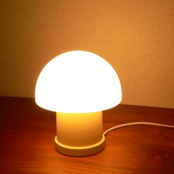 lt0075マッシュルーム型テーブルライト*amber design北欧中古家具ビンテージ雑貨等インテリア通販