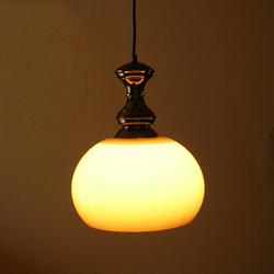 lt0079ブラウンボールシェードシーリングライト*amber designビンテージ北欧中古家具アンティーク雑貨通販アンバーデザイン