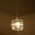 LEDペンダントライト キュービックガラス