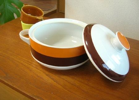 ドイツ製Bavaria陶器キャセロール