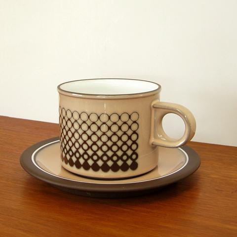ホーンジーHORNSEAカップ&ソーサー
