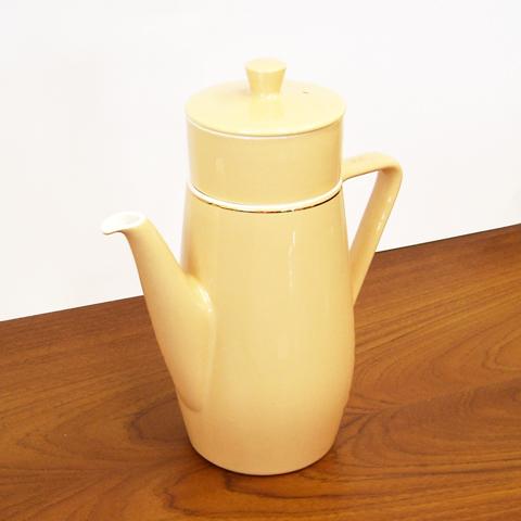 ビンテージ陶器コーヒーポット